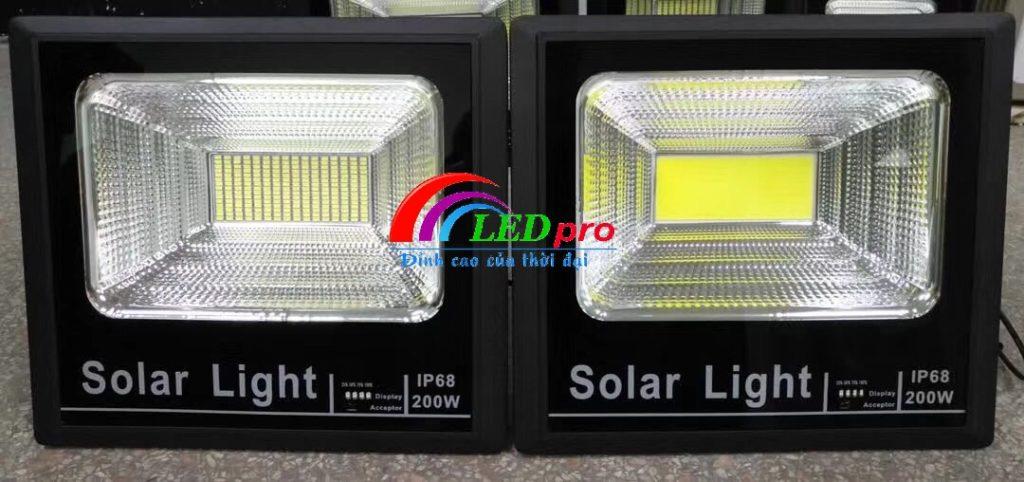Đèn pha năng lượng mặt trời chip cob