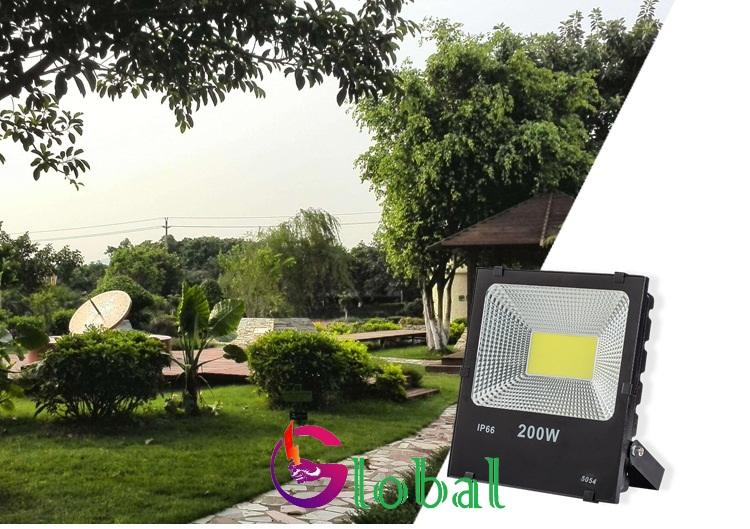 ứng dụng đèn pha led 5054
