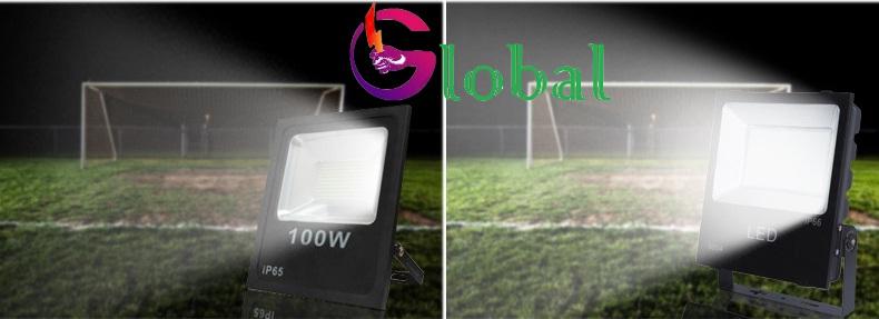 ứng dụng đèn pha led năng lượng mặt trời tại Q 1