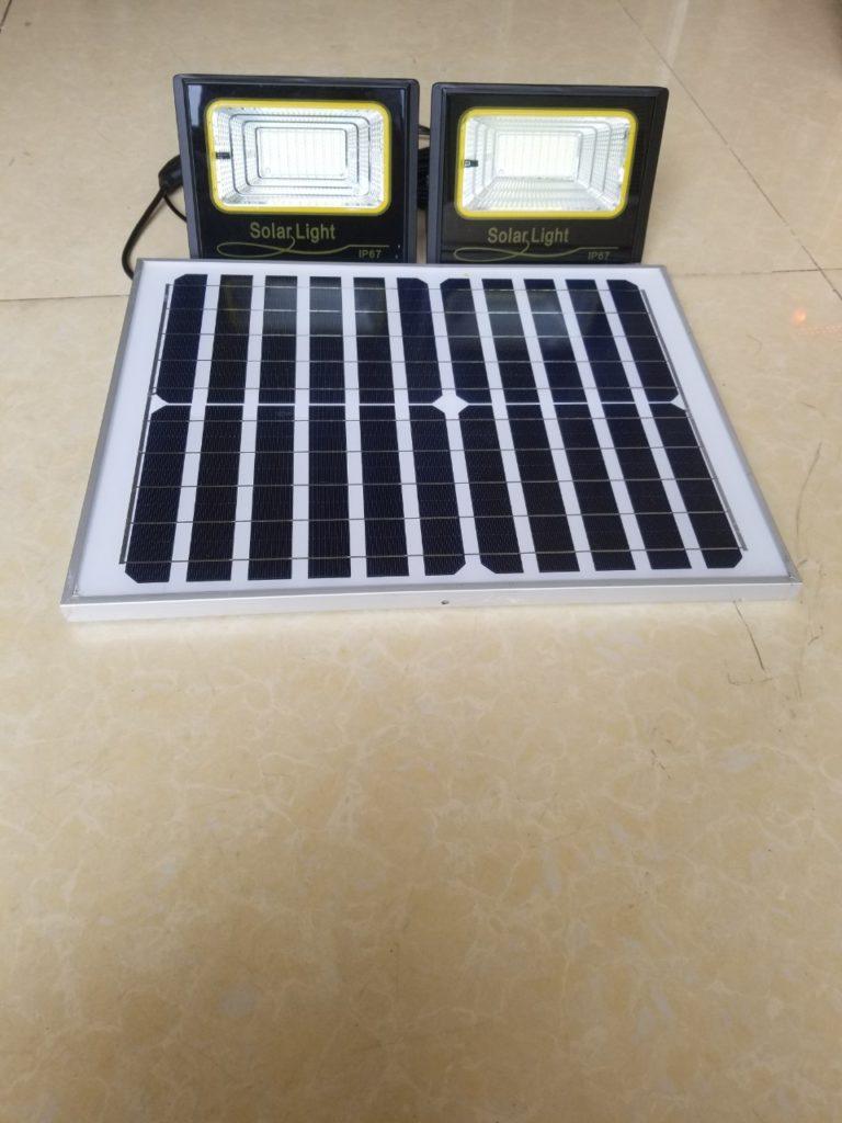 Đèn pha led NLMT 1 panel đi 2 đèn giá sỉ tại quận 3