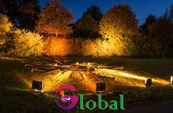 đèn led pha led 300w chiếu sáng sân vườn