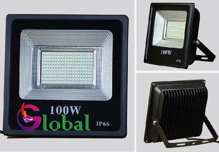 đèn pha led NLMT 100w giá sỉ tại huyện Cần Giờ