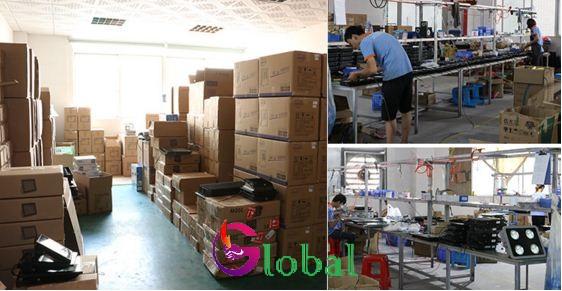 sản xuất đèn led pha ly 300w tại xưởng