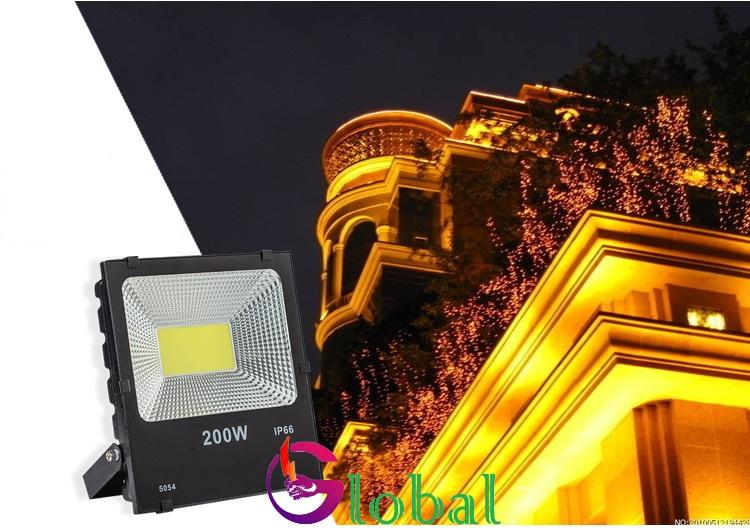 ứng dụng của đèn pha led 5054