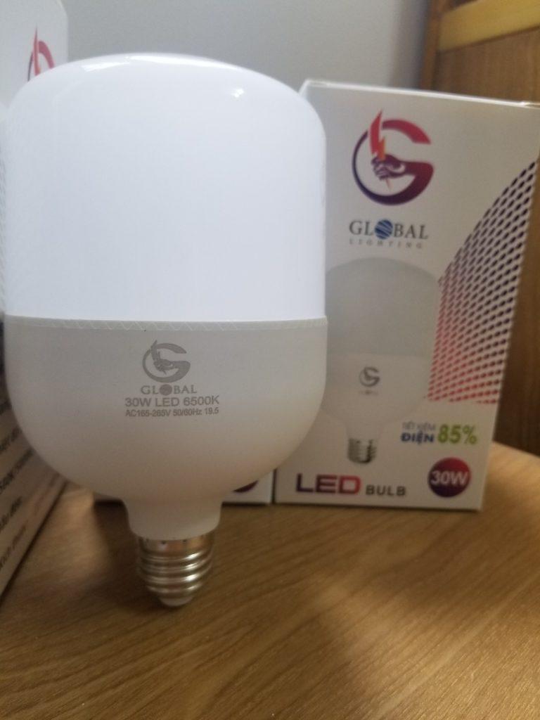 đèn led bóng trụ kín nước siêu tiết kiệm điện giá sỉ tại quận 1