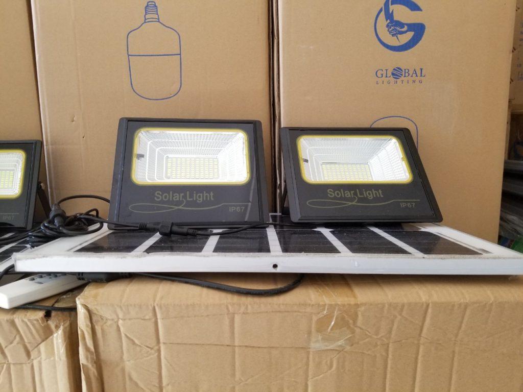 đèn pha led NLMT 1 panel đi 2 đèn