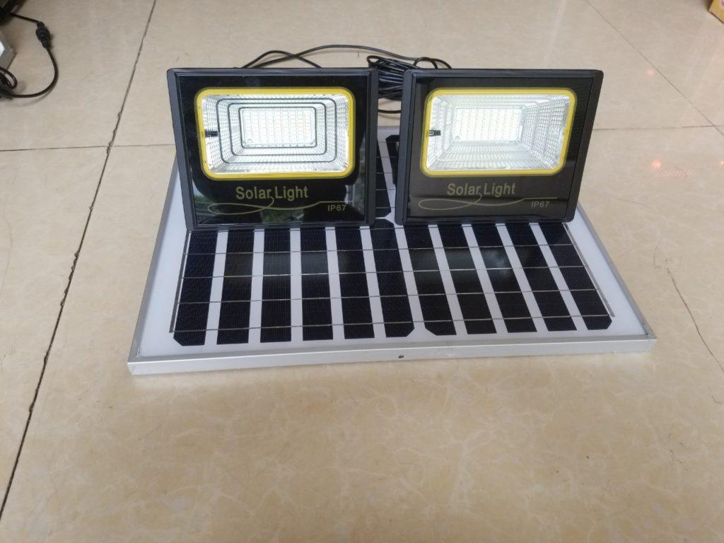 đèn pha led NLMT 1 panel đi 2 đèn tại quận 4