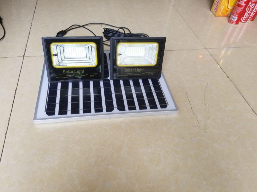đèn pha led NLMT 1 panel đi 2 đèn tại quận 5