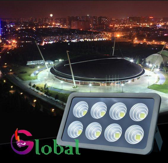 Ứng dụng Đèn pha led 400w cho sân thể thao
