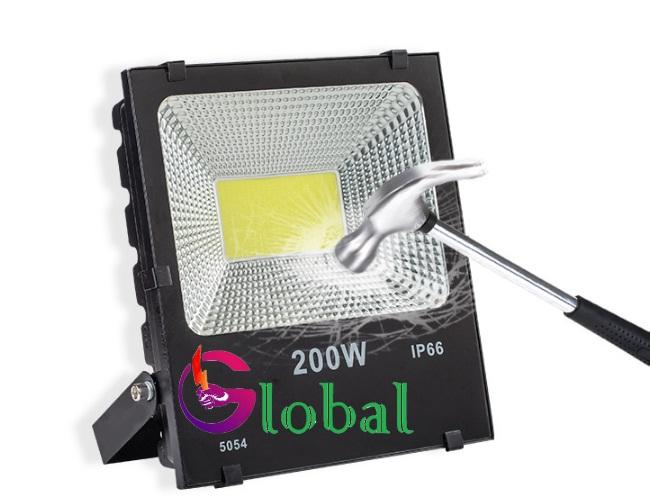 Ứng dụng đèn pha NLMT Chip Led COB tại huyện Nhà Bè