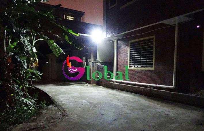 ứng dụng đèn pha led chiếu sáng tại quận Tân Bình
