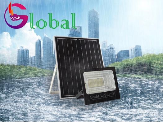 ứng dụng đèn pha led năng lượng mặt trời tại quận Bình Thạnh