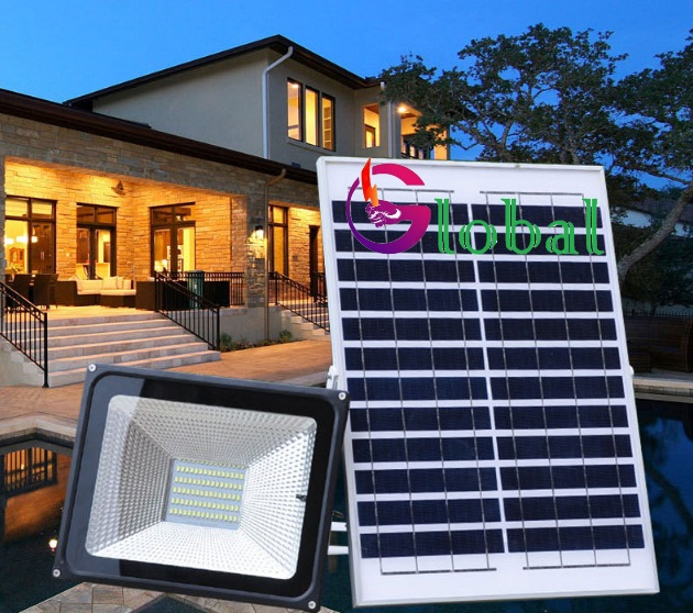 ứng dụng đèn pha led năng lượng mặt trời tại quận Tân Bình