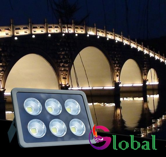 ứng dụng chiếu sáng đèn led pha ly