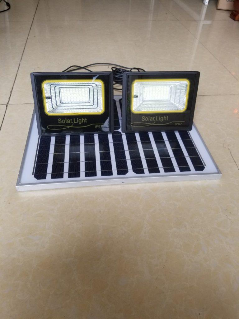 Đèn pha led NLMT giá sỉ 1 panel đi 2 đèn tại quận 6