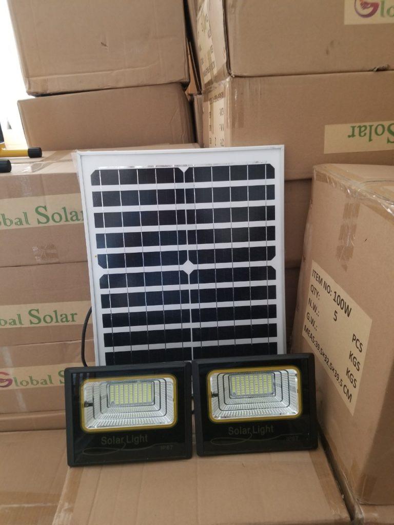 đèn pha led NLMT giá sỉ 1 panel đi 2 đèn tại quận 10