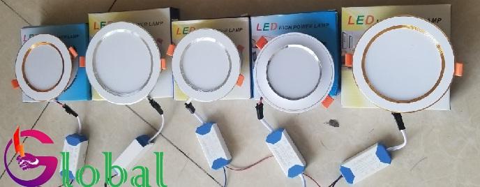 đèn led âm trần giá sỉ tại quận Tân Phú