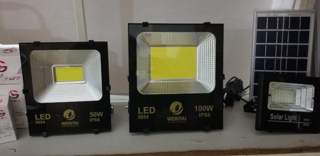 đèn pha led dân dụng giá sỉ tại quận 12