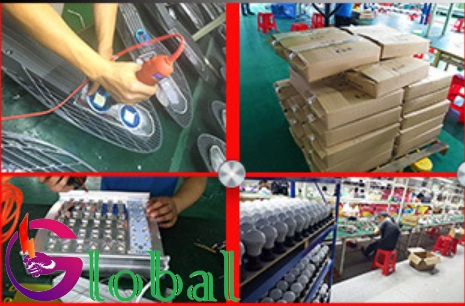 xưởng sản xuất đèn led đi đến quận Gò Vấp