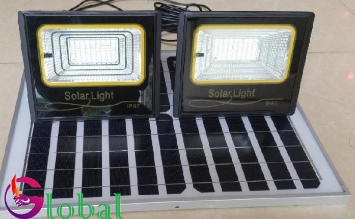 Đèn pha led NLMT giá sỉ 1 panel đi 2 đèn tại Vĩnh Long