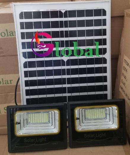 Đèn pha led NLMT giá sỉ 1 panel đi 2 đèn tại huyện Hóc Môn