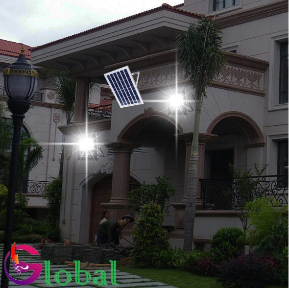 Ứng dụng chiếu sáng đèn pha len NLMT tại Đồng Nai