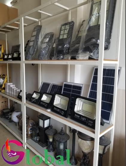 Giá trưng bày sản phẩm của đèn led giá sỉ tại huyện Củ Chi
