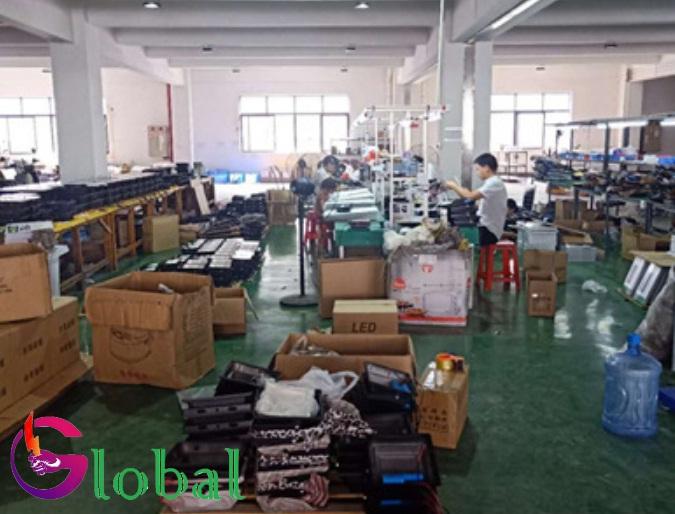 Xưởng sản xuất đèn led đi đến Đồng Nai