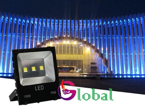 ứng dụng chiếu sáng đèn pha led 150w chống nước