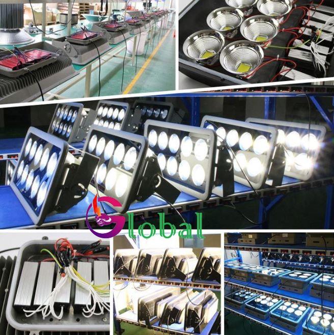 đèn pha led ly 500w chiếu sáng sân bóng, sân tennis, chiếu sáng tàu cá, chiếu sáng công trình